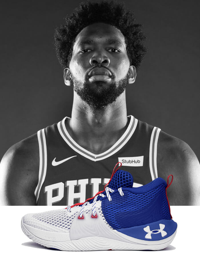 Under Armour Embiid 1 3023086-107 1